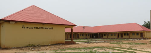Construction and Furnishing of Block of Eight (8) Classrooms