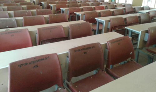 Provision of Lecture Seats in Classrooms